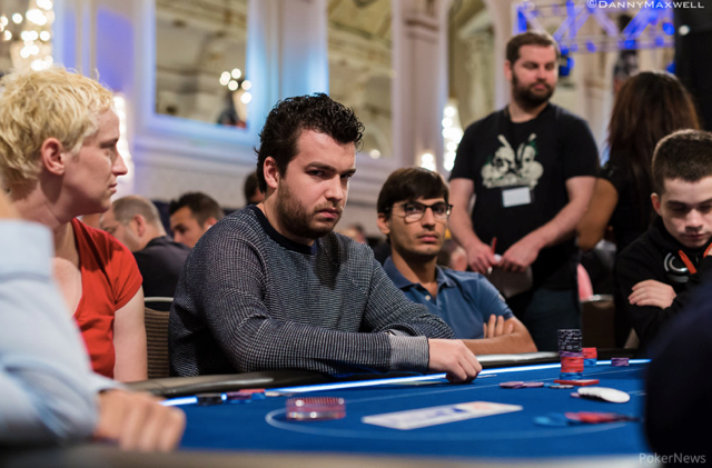 Chris Moorman Playing Poker 2014 EPT London